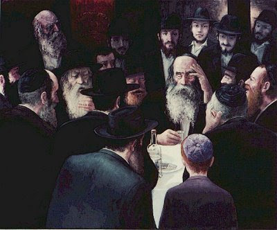 A Chassidic Fabrengen  gathering