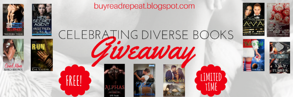 Celebrating diverse books giveaway