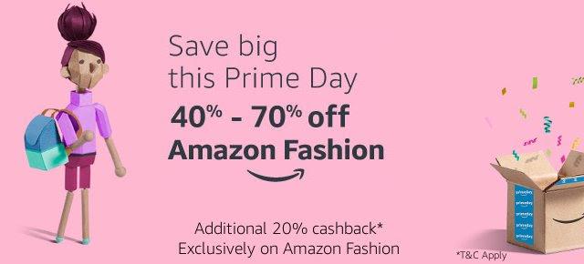40% - 70% off Fashion