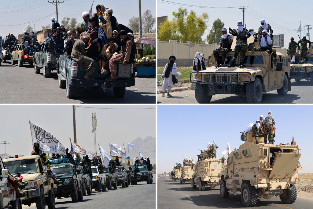 Taliban Parade Fou pictures