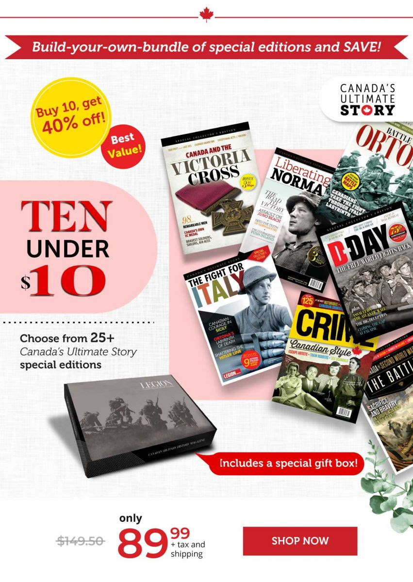 Canada's Ultimate Series : 10 under $10!