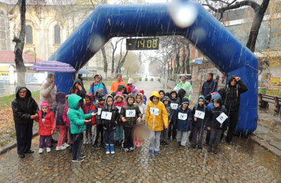 Najmlađi učesnici Odžačkog polumaraton