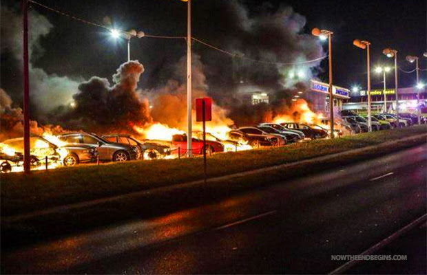 ferguson-protesters-set-car-dealership-on-fire-mike-brown-darren-wilson