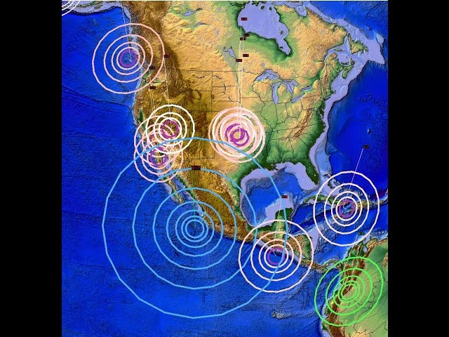 1/21/2016 -- West Coast Seismic Unrest - Earthquake Forecast Areas being hit now  Sddefault