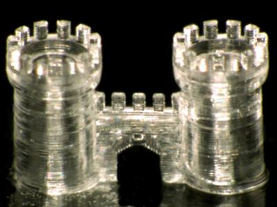château imprimé en 3D