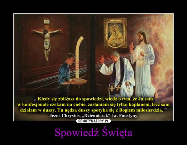 Znalezione obrazy dla zapytania: jezus w konfesjonale