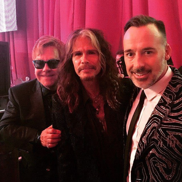 Gushing: 'Hanging with Steven Tyler just before he auctions off a week's stay in his gorgeous Hawaiian home. Thank-you Steven! Steven Tyler, Aerosmith, Ray Charles, Pop Punk, West Hollywood, Hollywood Stars, Elton John Friends, Elton John Sunglasses, Hawaiian Homes