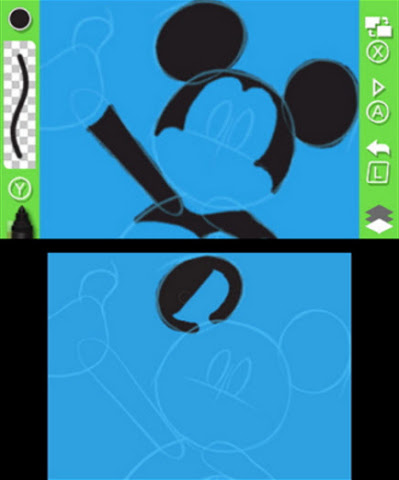 In the Disney Art Academy game, discover your inner artist to capture the stunning visuals of more t ...