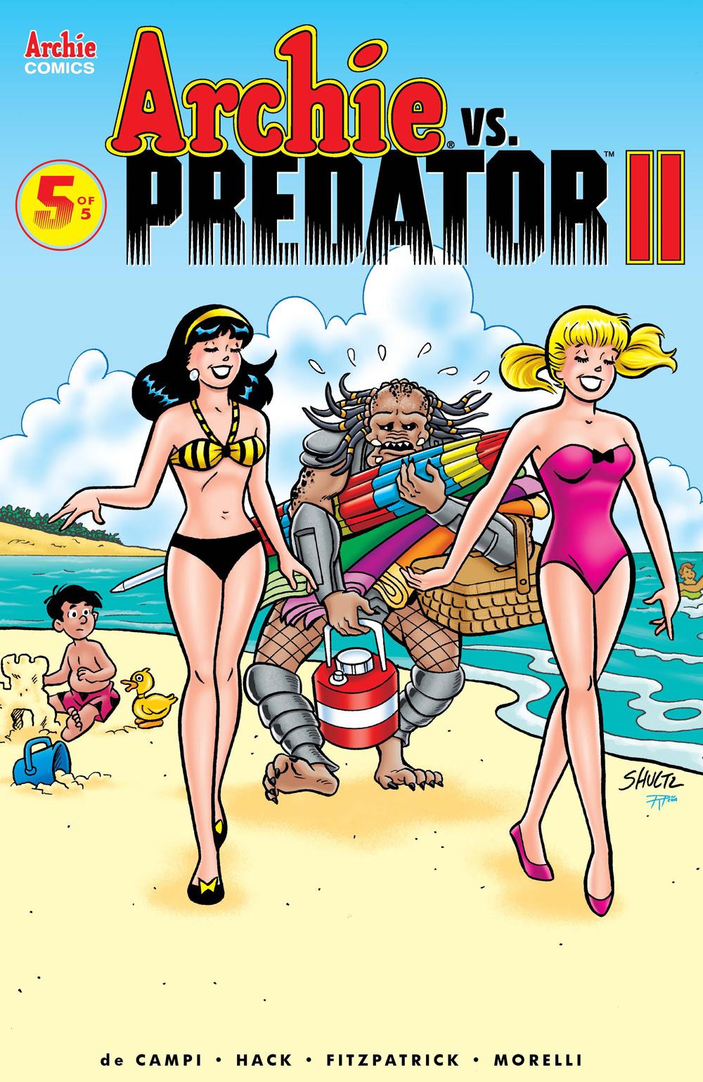 ARCHIE VS. PREDATOR 2 #5: CVR E Shultz