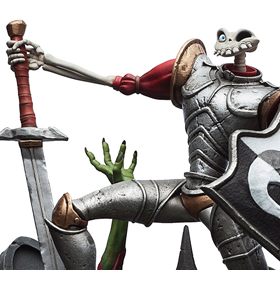 MediEvil Sir Dan Fortesque Limited Edition Statue