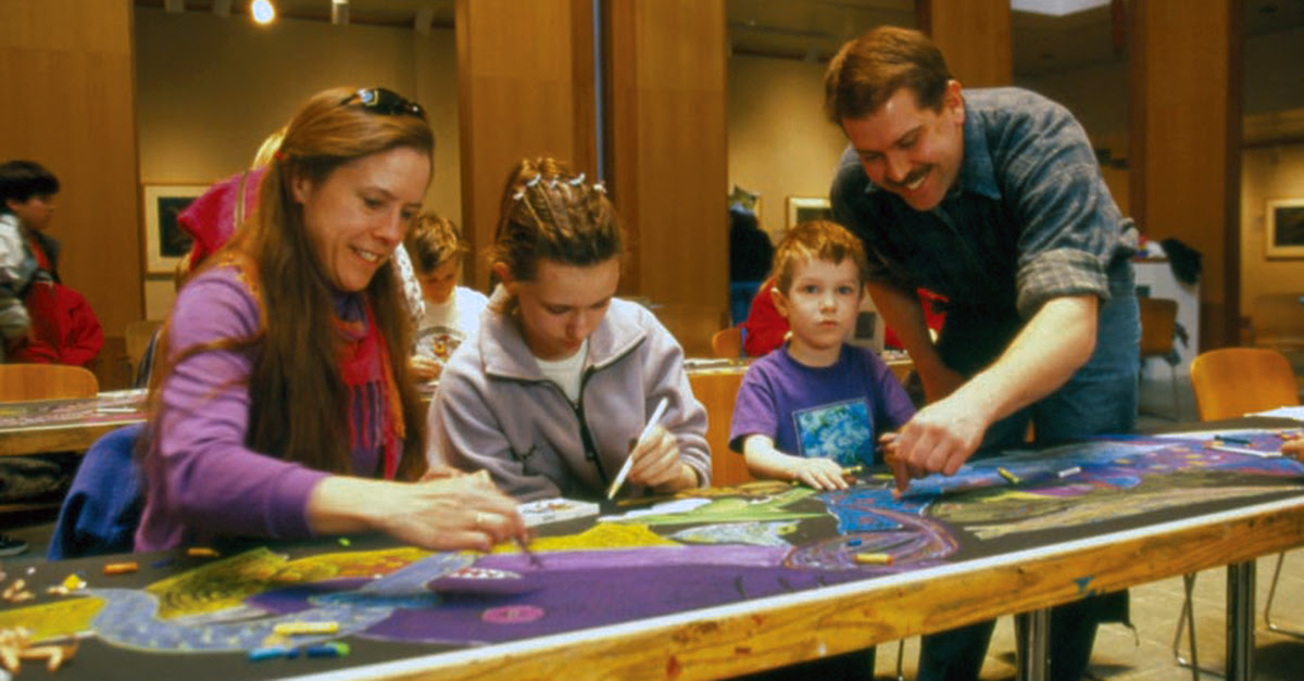Family Watercolor Class