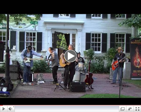 The Dave Sammarco Band at the Arlington Chamber of Commerce's Summer Concert Series