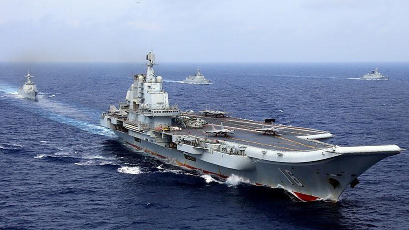VIDEO: Los ejercicios de la Marina china y la