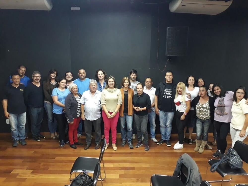 Grupo Gestor do Centro de Artes e Esportes Unificados de Tatui escolhido por eleição