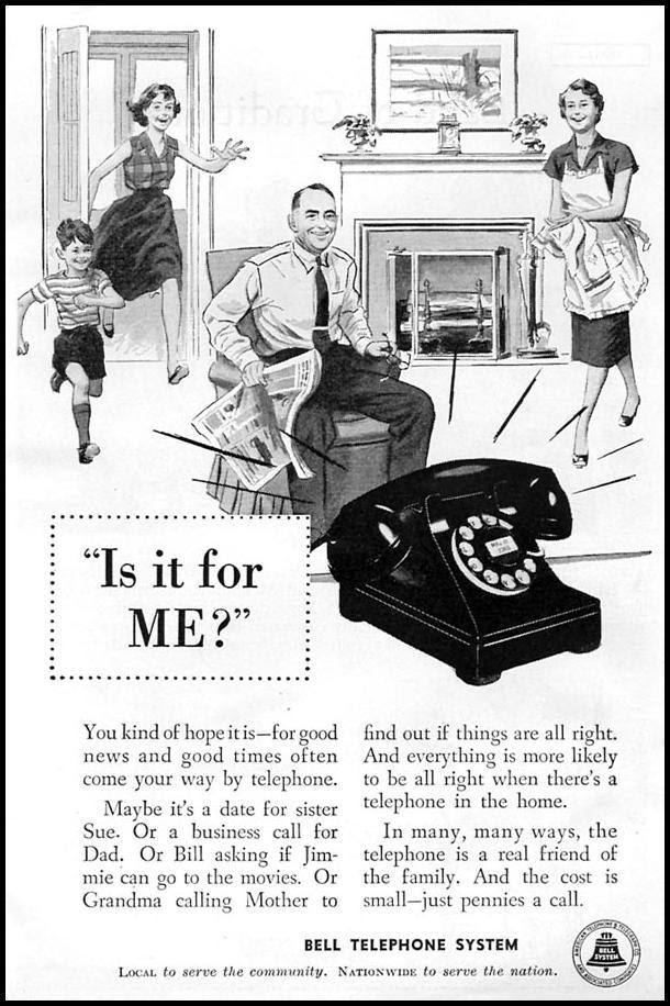 TELEPHONE SERVICE CORONET 07/01/1954 p. 7