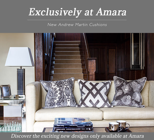 Exclusively at Amara: New Andrew Martin Cushions