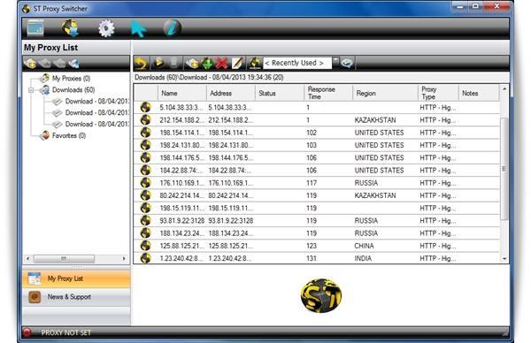 Aprenda a encontrar e se conectar a servidores proxy estáveis