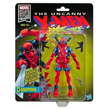 "Image of X-Men X-Force Retro Marvel Legends 6"" Deadpool Action Figure (RE-STOCK)"