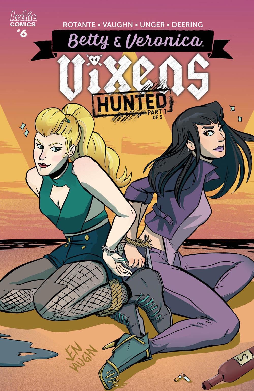 Betty & Veronica: Vixens #6: CVR A Vaughn