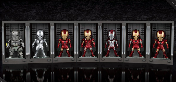 MINI EGG ATTACK MEA-015 IRON MAN WITH HALL OF ARMOR