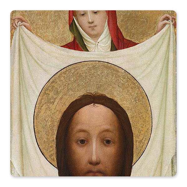 Master of Saint Veronica, 'Saint Veronica with the Sudarium', about 1420 © The National Gallery, London