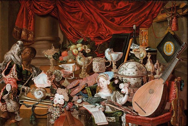 The Paston Treasure (c. 1663), unknown artist (Dutch school). Norwich Castle Museum & Art Gallery