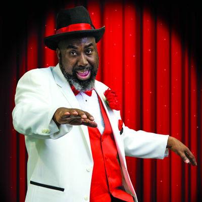 """Eric Moore as """"Big Moe"""". Photo by Casey Gardner."""