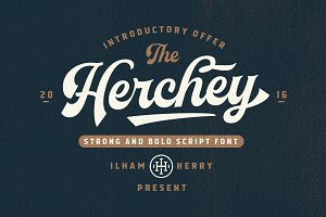 Herchey Script - 30% off
