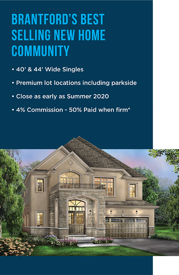 Brantford's Best Selling New Home Community