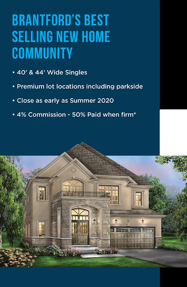 Brantford's Best Selling New Home Community