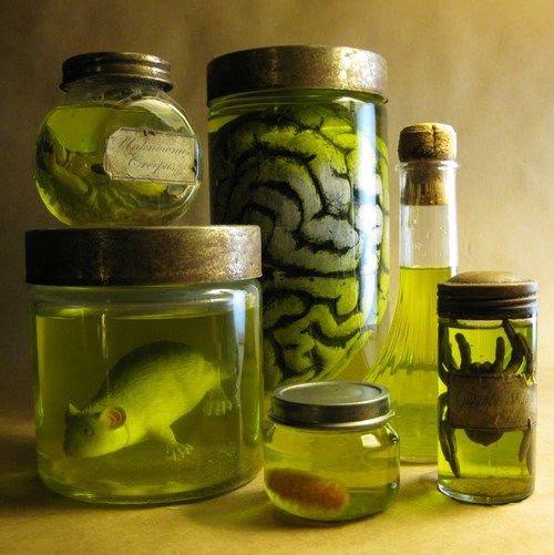 Image result for diy halloween specimen jars