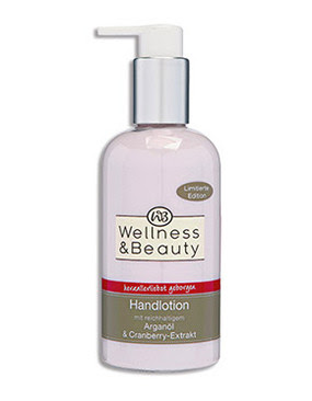 Wellness & Beauty Handlotion Arganöl & Cranberry-Extrakt