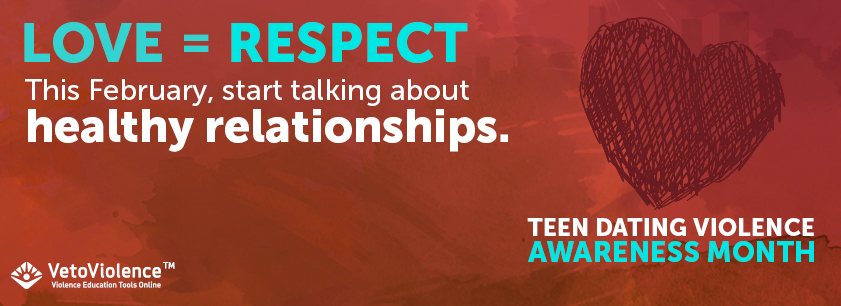 This February, start talking about healthy relationships