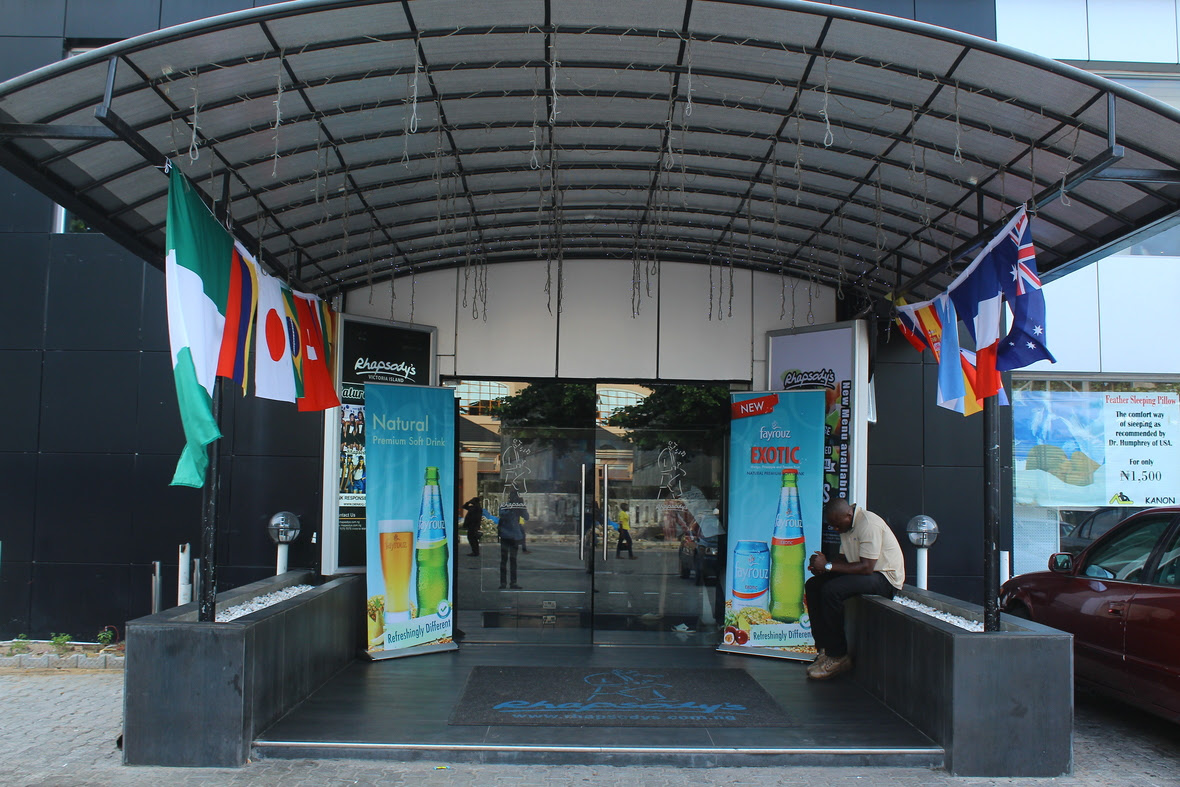 rhapsody s entrance