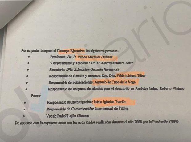 Iglesias cobró a título personal 1,36 millones de la dictadura venezolana junto a otras 8 personas