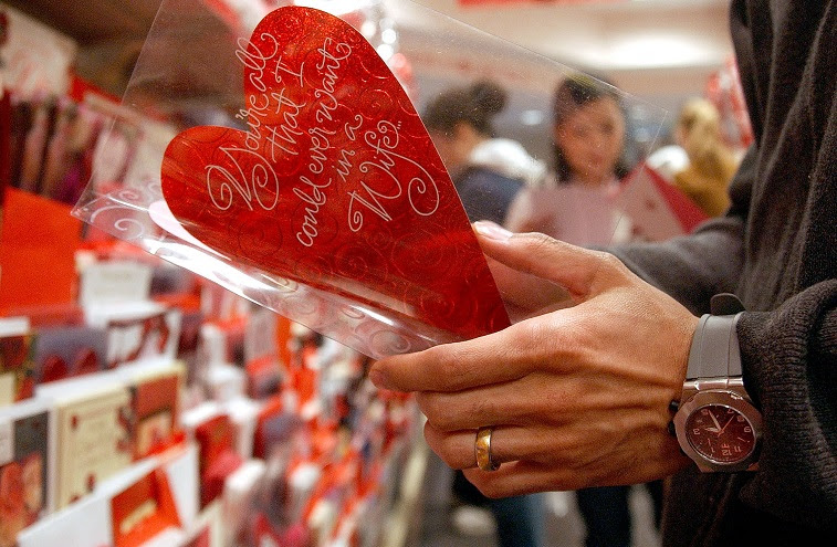 Image result for Do men spend more on Valentine's Day than women ? ?