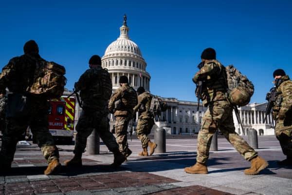 National Guard in Washington DC