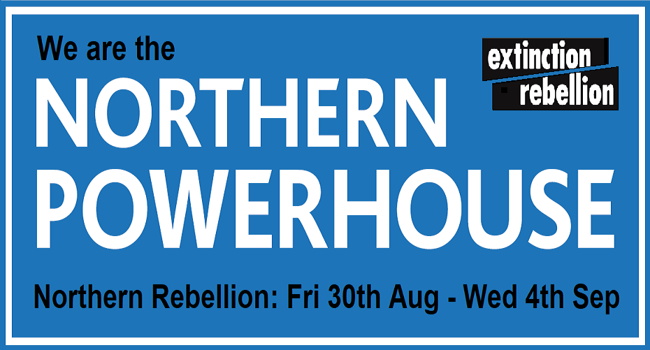 We are the NORTHERN POWERHOUSE. Northern Rebellion: Friday 30th Aug - Wed 4th Sep