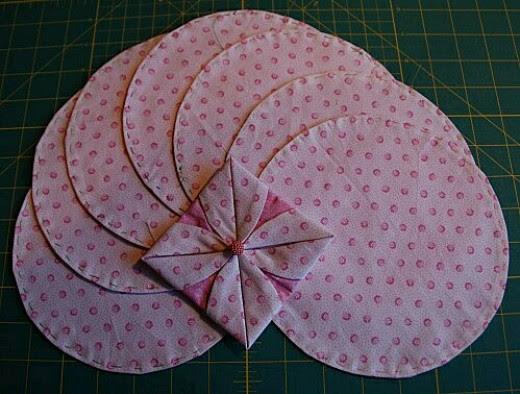 Folded circle
