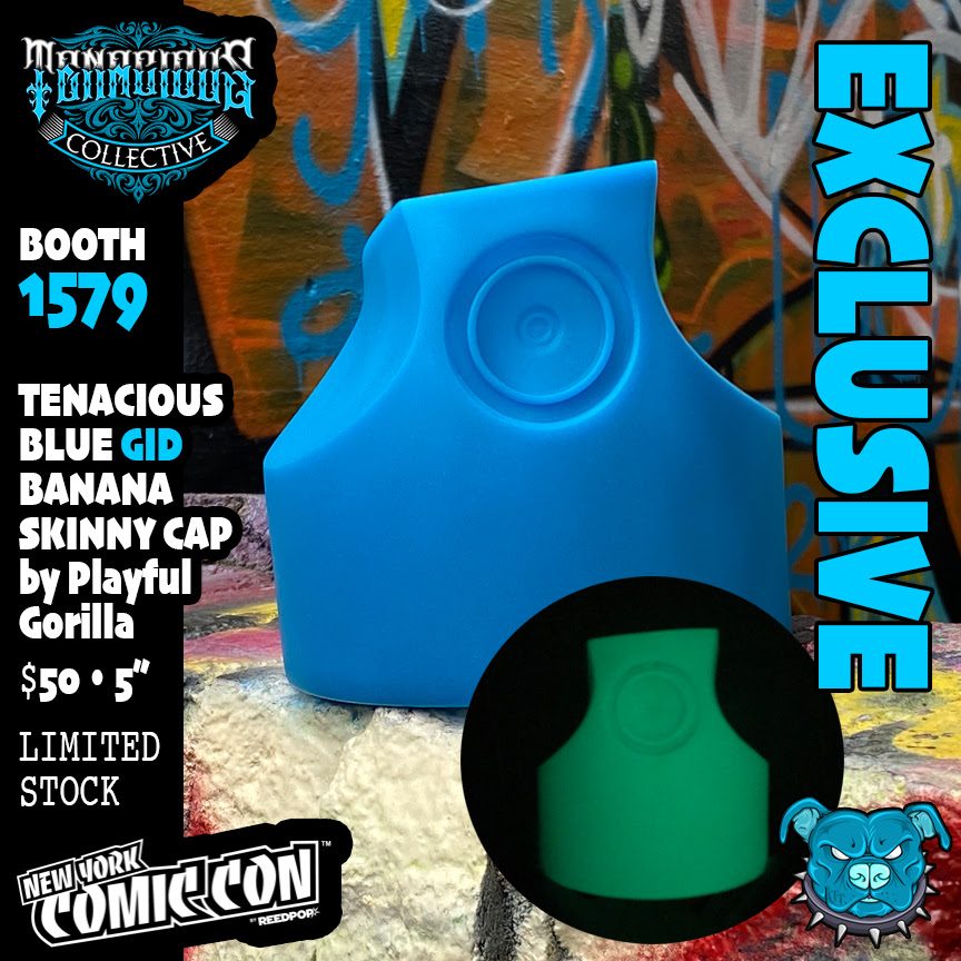 NYCC 2021 flyer Excl GID blue skinny cap