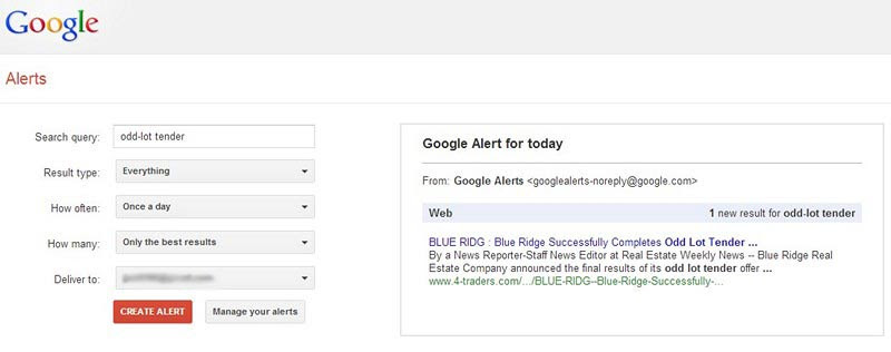 How to Use Google Alerts