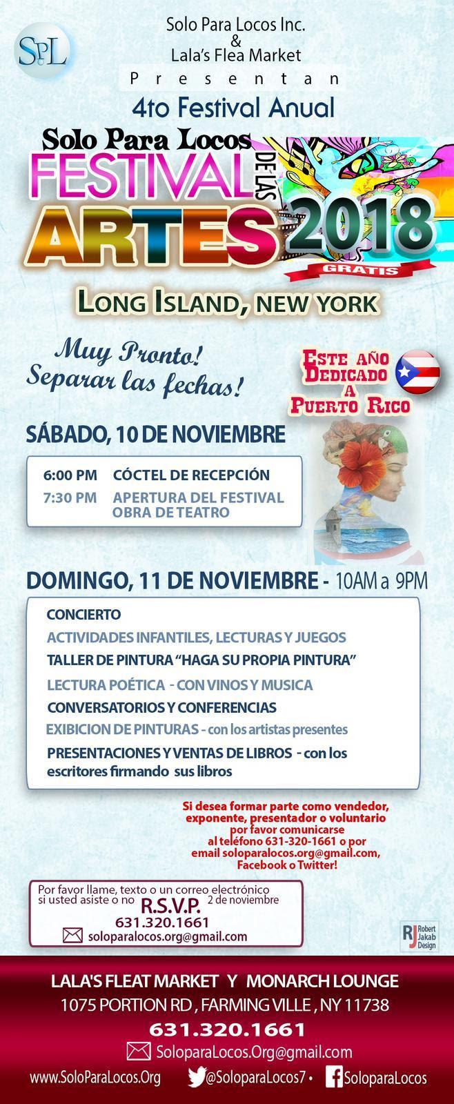 Invitacion Festival Solo Para locos