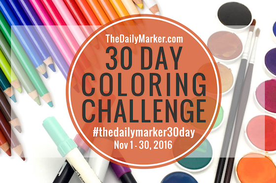 The 30 day colouring challange