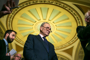 Senator Chuck Schumer of New York, the Democratic leader, said his party would insist on having a mainstream Supreme Court candidate.