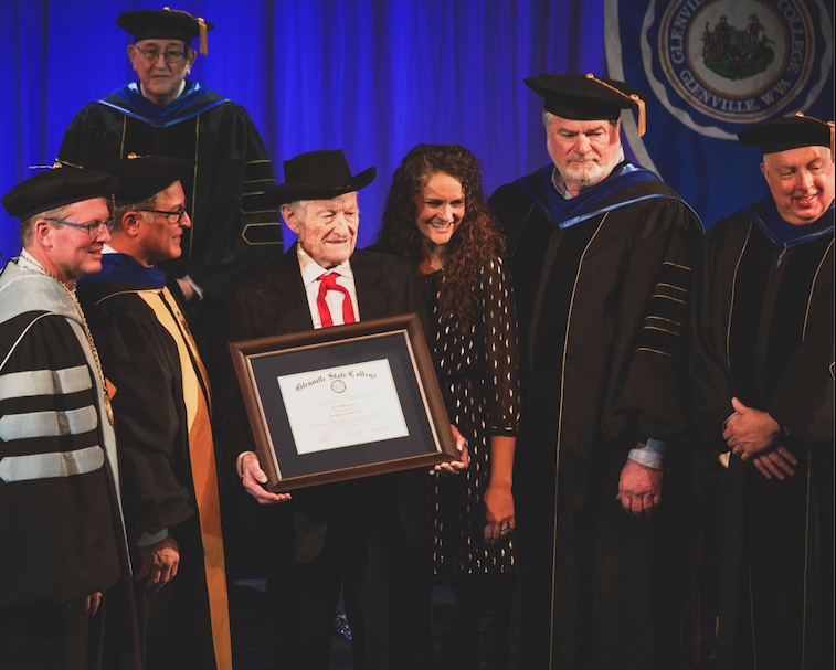 Jesse McReynolds Doctorate