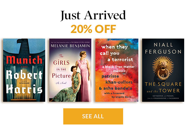 Just Arrived 20% OFF   SEE ALL