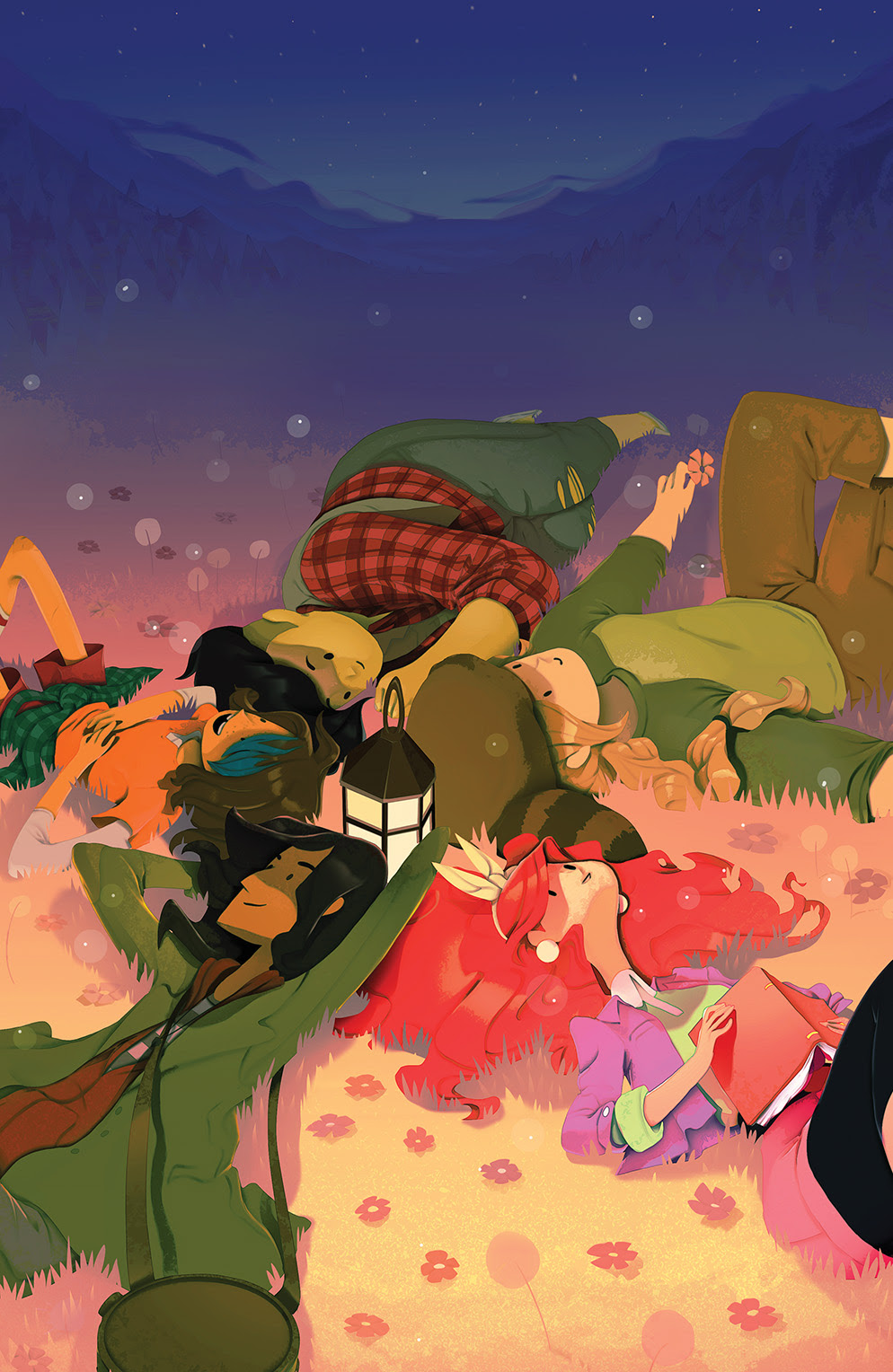 LUMBERJANES #5 Cover B by Perry Maple