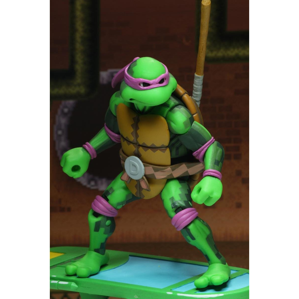"""Image of TMNT: Turtles in Time - 7"""" Scale Action Figures - Donatello - NOVEMBER 2019"""