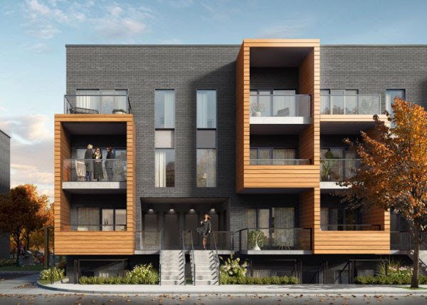 4Hundred East Mall Townhomes