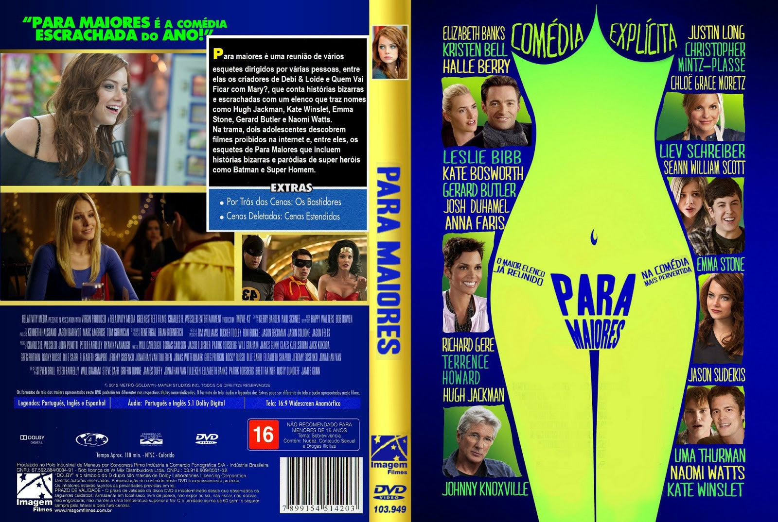Para Maiores (Movie 43) Torrent – DVDRip Dual Áudio (2013)